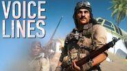 Battlefield 5 - Norman Kingsley Elite - All Voicelines (Datamined)