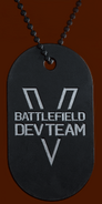 Battlefield V Battlefield V Dev Dog Tag