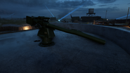 BF1 SK45 Coastal Cannon Destroyed Front
