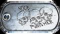 Noob Punisher Dog Tag