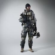 Battlefield 4 Irish Model Screenshot