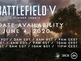 Battlefield V: Summer Update
