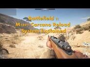 Battlefield 1 M1891 Carcano Reload System