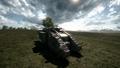 BF1 Mark V Landship Support Back