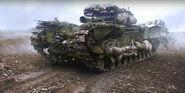 Tank Concept Art - Battlefield V