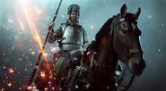 BF1 Russian Cavalry Promo Art