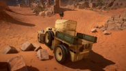 BF1 RNAS Armored Car Desert Back