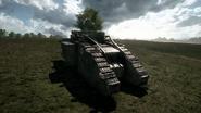 BF1 Mark V Landship Hunter Back