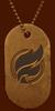 Battlefield V Firestorm Veteran Dog Tag