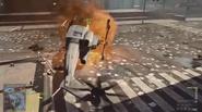 UH-1Y Venom on fire bf4