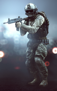 M416 held BF4
