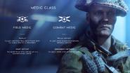 Battlefield V Medic Combat Roles