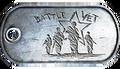 Battle Vet Dog Tag