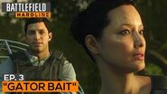 Battlefield Hardline Gameplay Walkthrough Part 4 - Episode 3 Gator Bait (All Evidence)