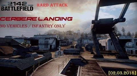Battlefield 2142 Infantry Only No Vehicles Alliance – Cerbere Landing Мультиплеер (02 марта 2018)