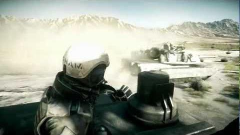 Battlefield 3 Thunder Run Tank Gameplay Trailer (E3)