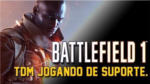 Battlefield™ 1 - TDM 1 - Jogando de suporte.