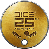 BF1 DICE 25th Anniversary Dog Tag