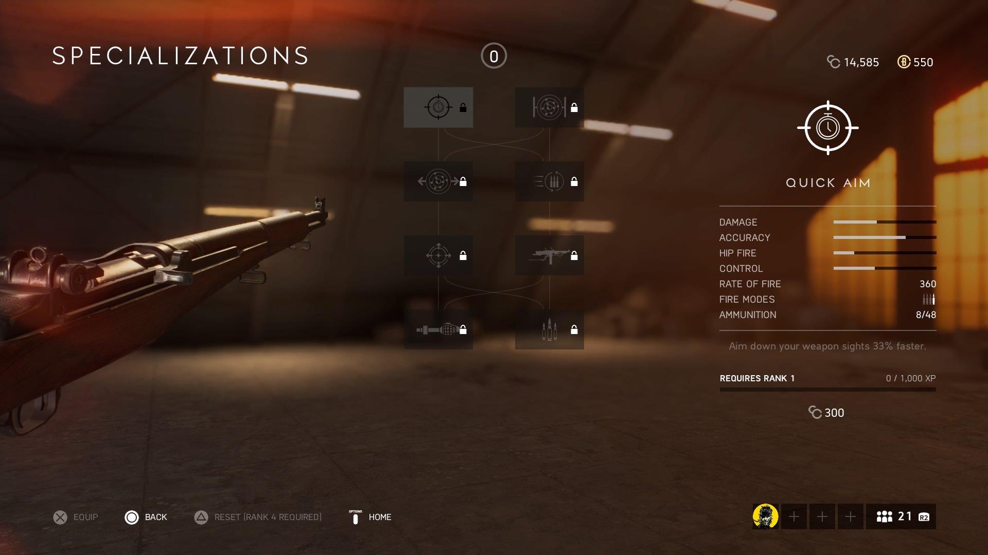 Specializations (Battlefield V)