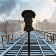 Battlefield 1 White Army Sniper Decoy