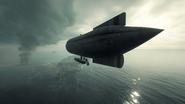BF1 C-Class Airship Back