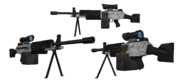 BFH Scoped Arctic M249 Render