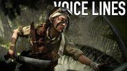 Battlefield 5 - Misaki Yamashiro Elite Voice Lines
