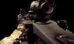 BFBC2 MG3 4X Rest