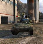 Type 95 SPAA Firing