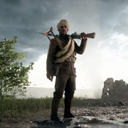 Battlefield 1 British Empire Medic Squad