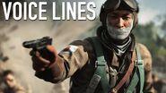 Battlefield 5 - Akira Sakamoto Elite Voice Lines