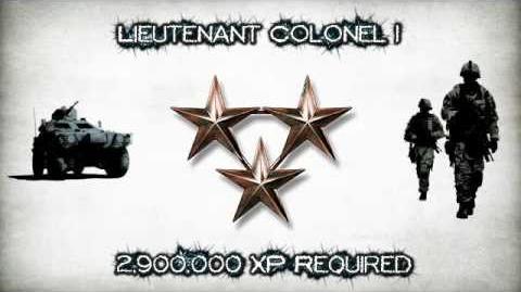 Battlefield: Bad Company 2 online ranks