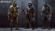 BF1 soldiers concept