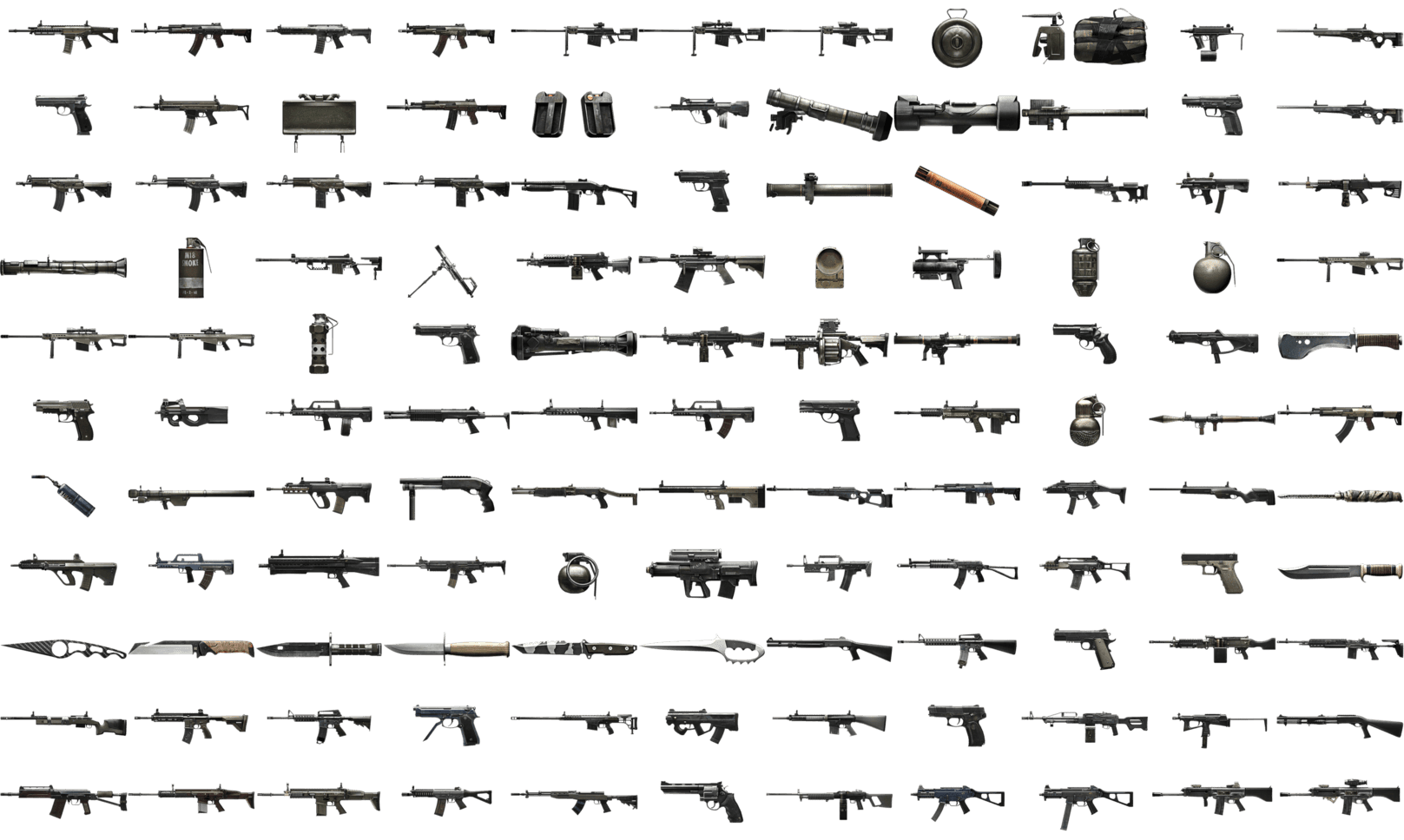 Awyman13/All BF4 Weapons