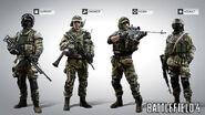 Battlefield 4 Russian Character Models