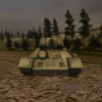 T-34-85 frontal view.BF1942.png