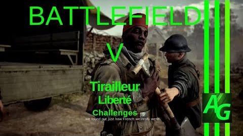 ✪ Battlefield V Tirailleur - Liberte - Challenges