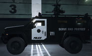 Armored Rescue Vehicle Battlefield Hardline