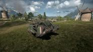 BF1 Mark V Landship Support Front