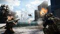 Battlefield 4 Siege of Shanghai Screenshot (from bottom of skyscraper)