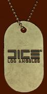 Battlefield V DICE LA Dog Tag