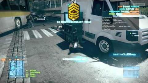 Battlefield 3 EOD Bot Stealth Gameplay HD 6870