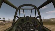 Zero.Driver view.BF1942
