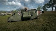 BF1 Mark V Landship Mortar Right