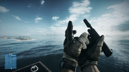 M1911 reload empty BF3