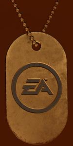Battlefield V Electronic Arts Dog Tag
