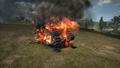 BF1 Mark V Landship Destroyed Front