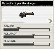 BFH Maxwell's Super Machinegun Stats