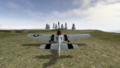 P-51 rear view.BF1942