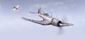 BF1942 CORSAIR AND ZERO